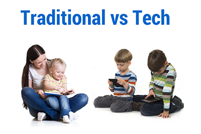Traditional vs Tech - Old Fashioned Toys Better At Promoting Early Language Development