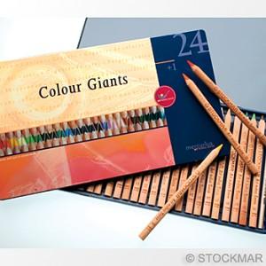 Stockmar Colour Giants - 24 Asst. Colours