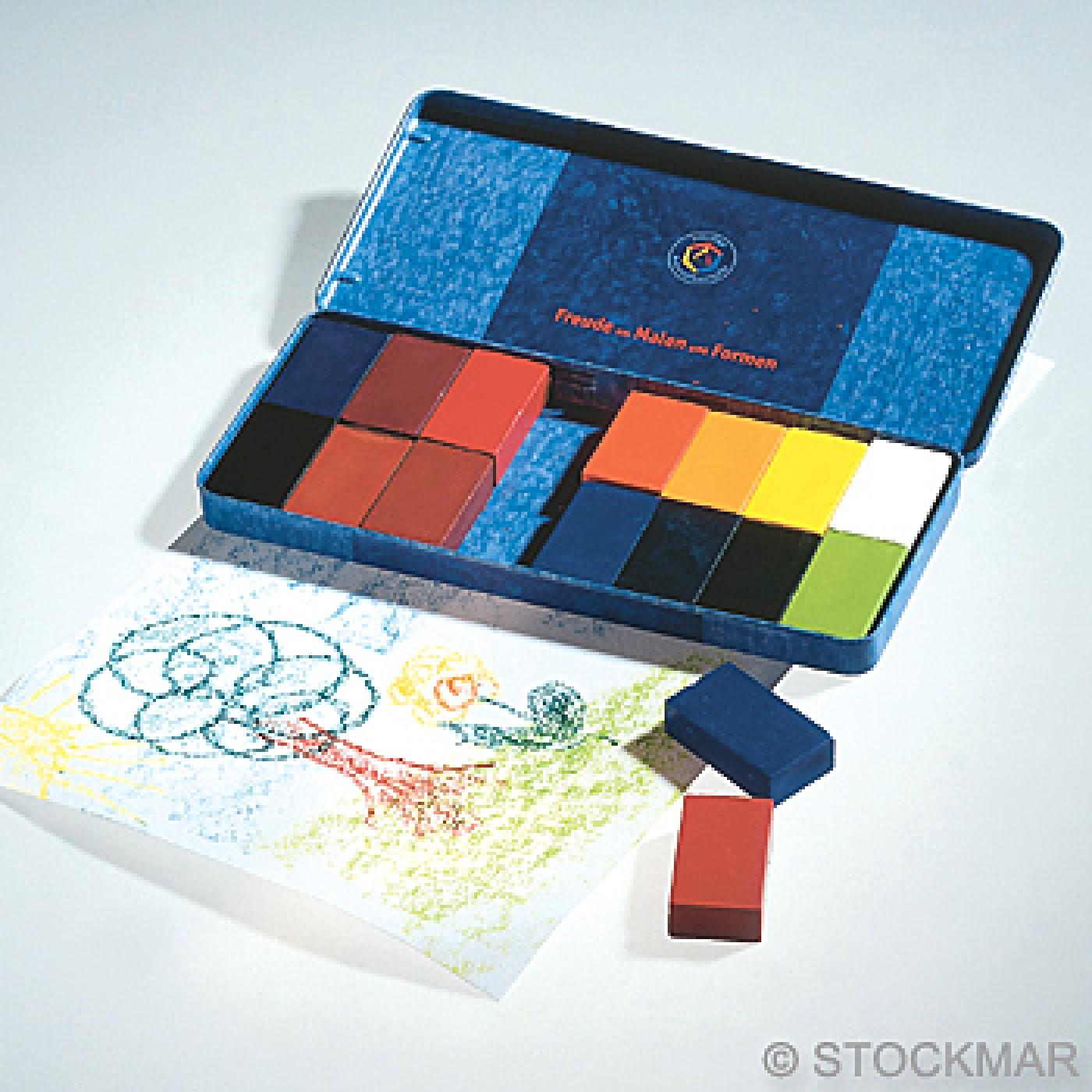 Stockmar Wax Block - 16 Colors