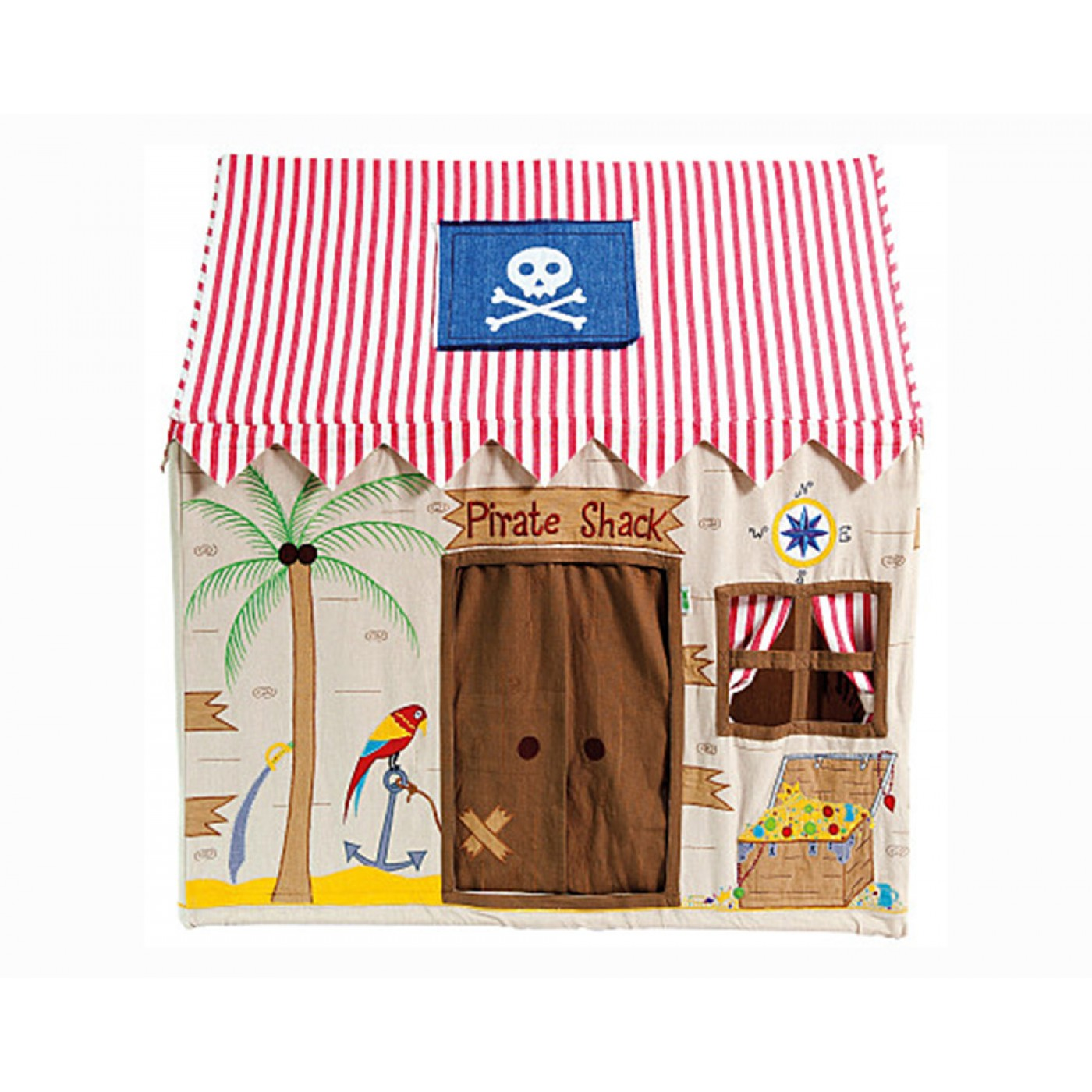 Win Green - Large Pirate Shack Playhouse