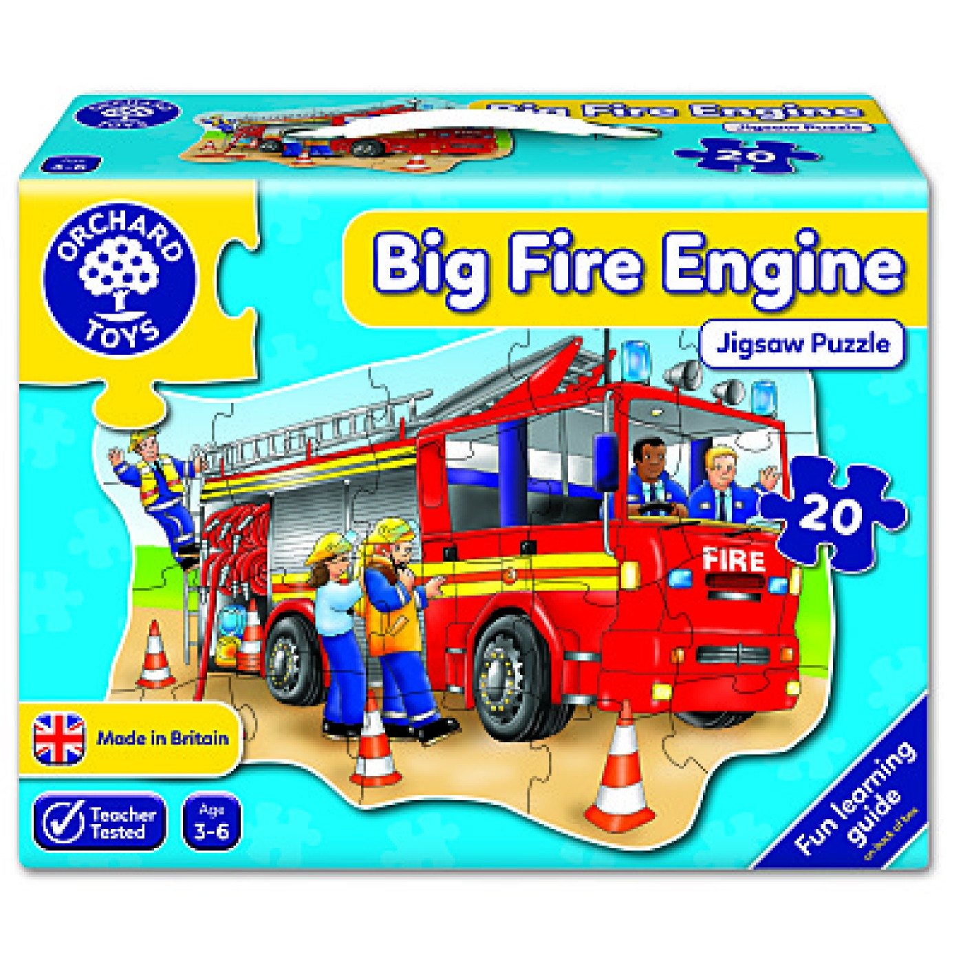 Big Fire Engine Floor Puzzle