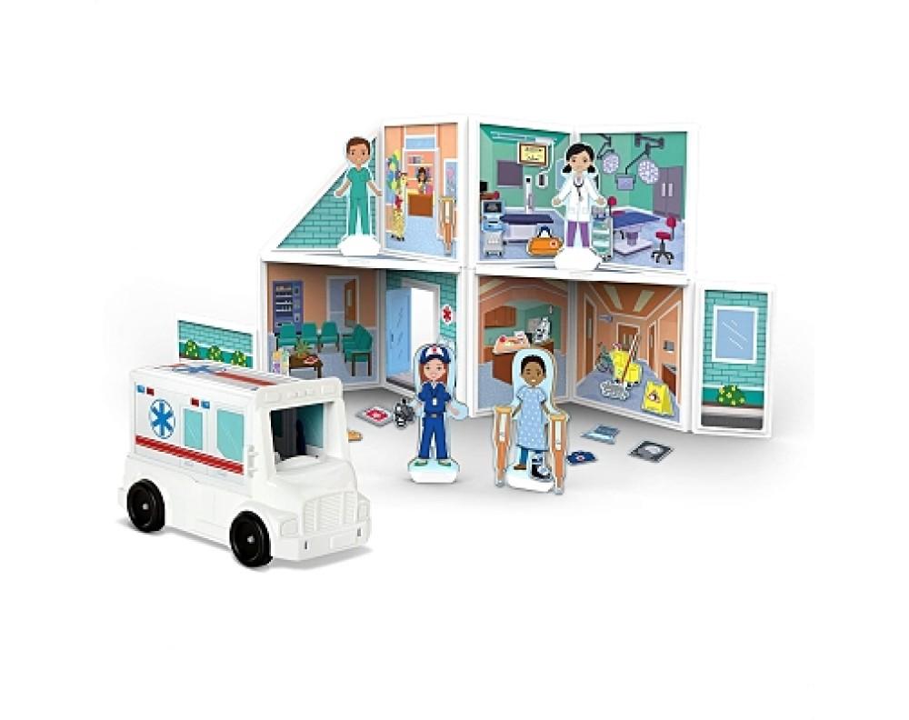 Building Play Set Hospital Magnetivity