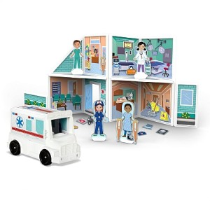 Building Play Set Hospital Magnetivity