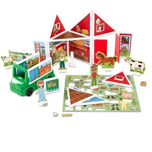 Building Play Set On The Farm Magnetivity