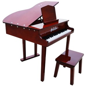 Concert Grand Piano 37-Key - Mahogany
