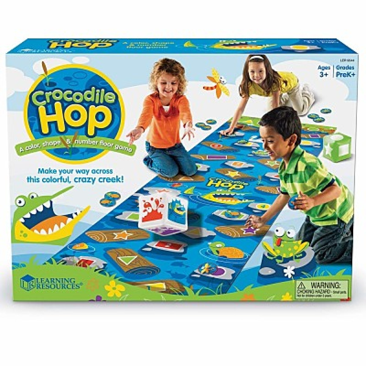 Crocodile Hop Floor Game