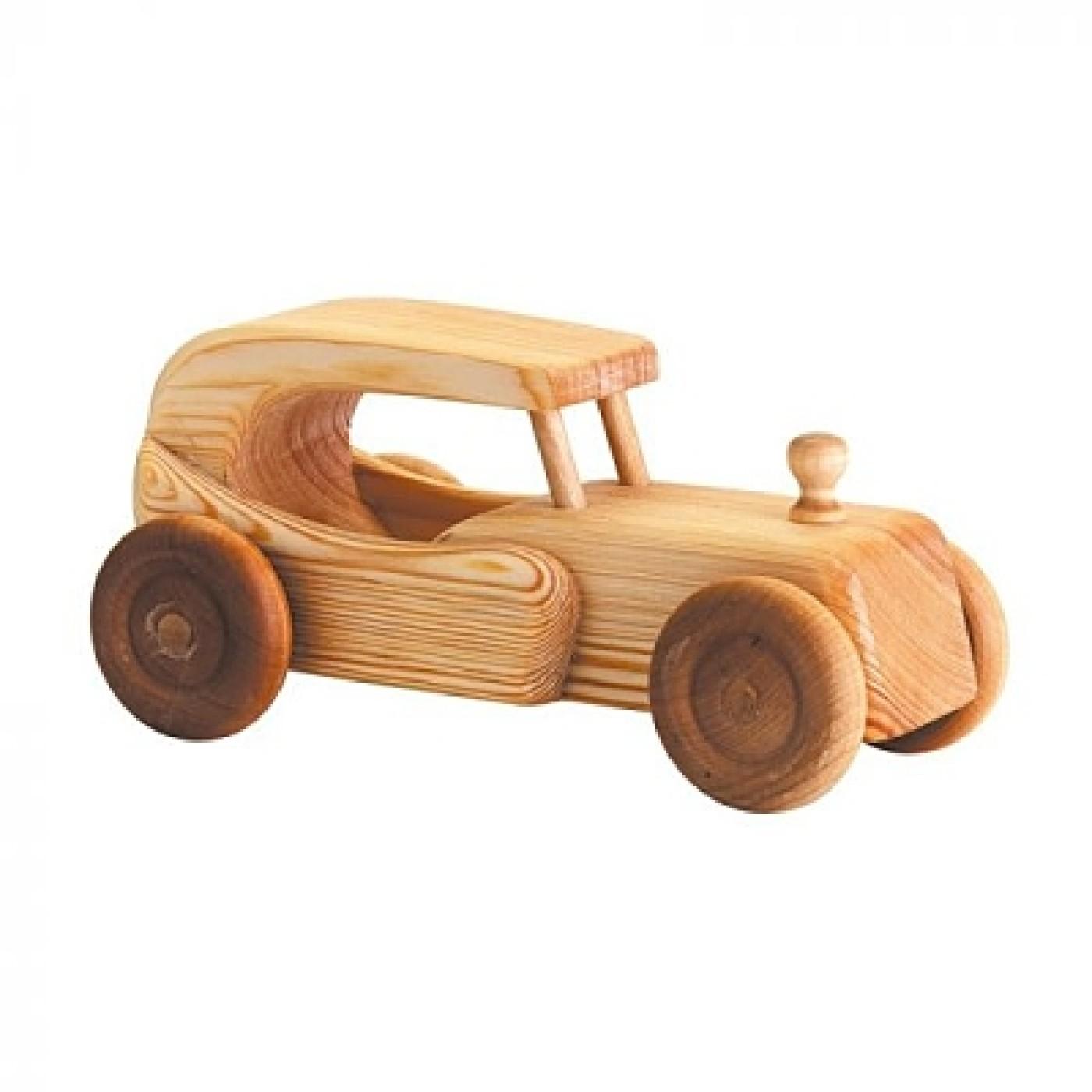 Debresk Wooden Toy Car Large