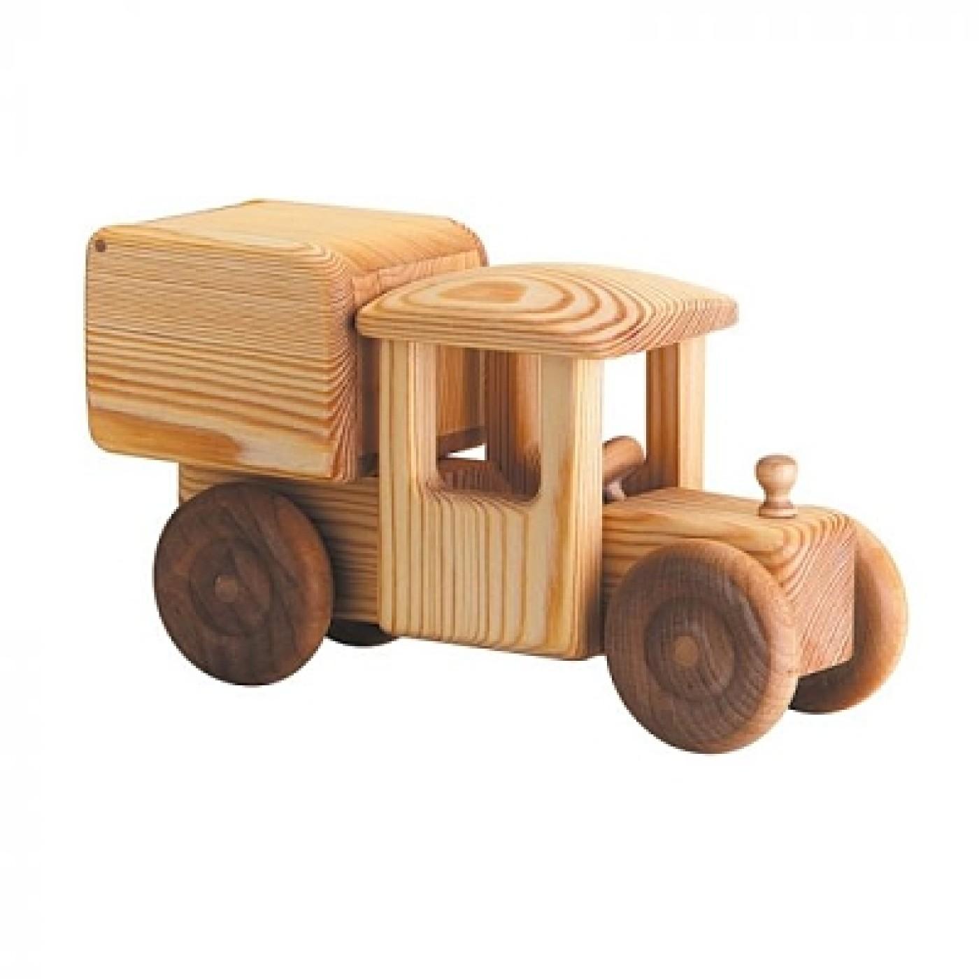 Debresk Wooden Toy Delivery Van Large