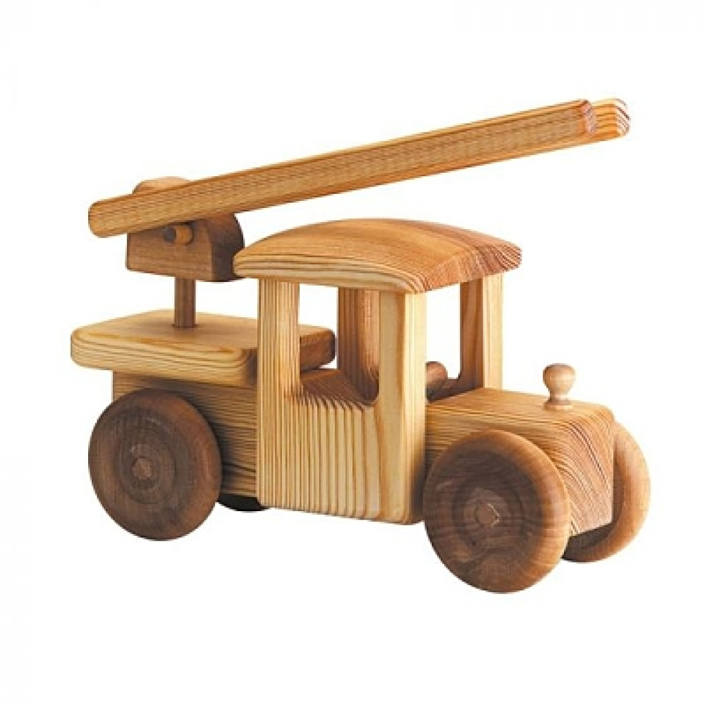 Debresk Wooden Toy Fire Truck Large