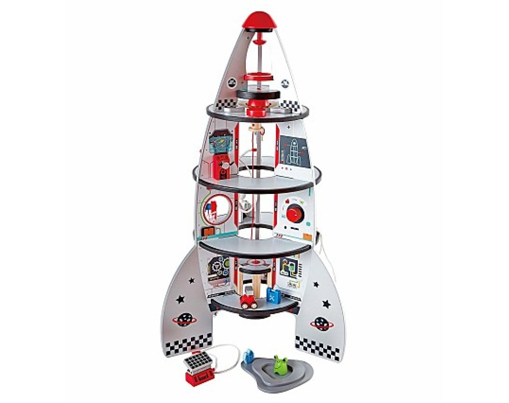 Four Stage Rocket Ship