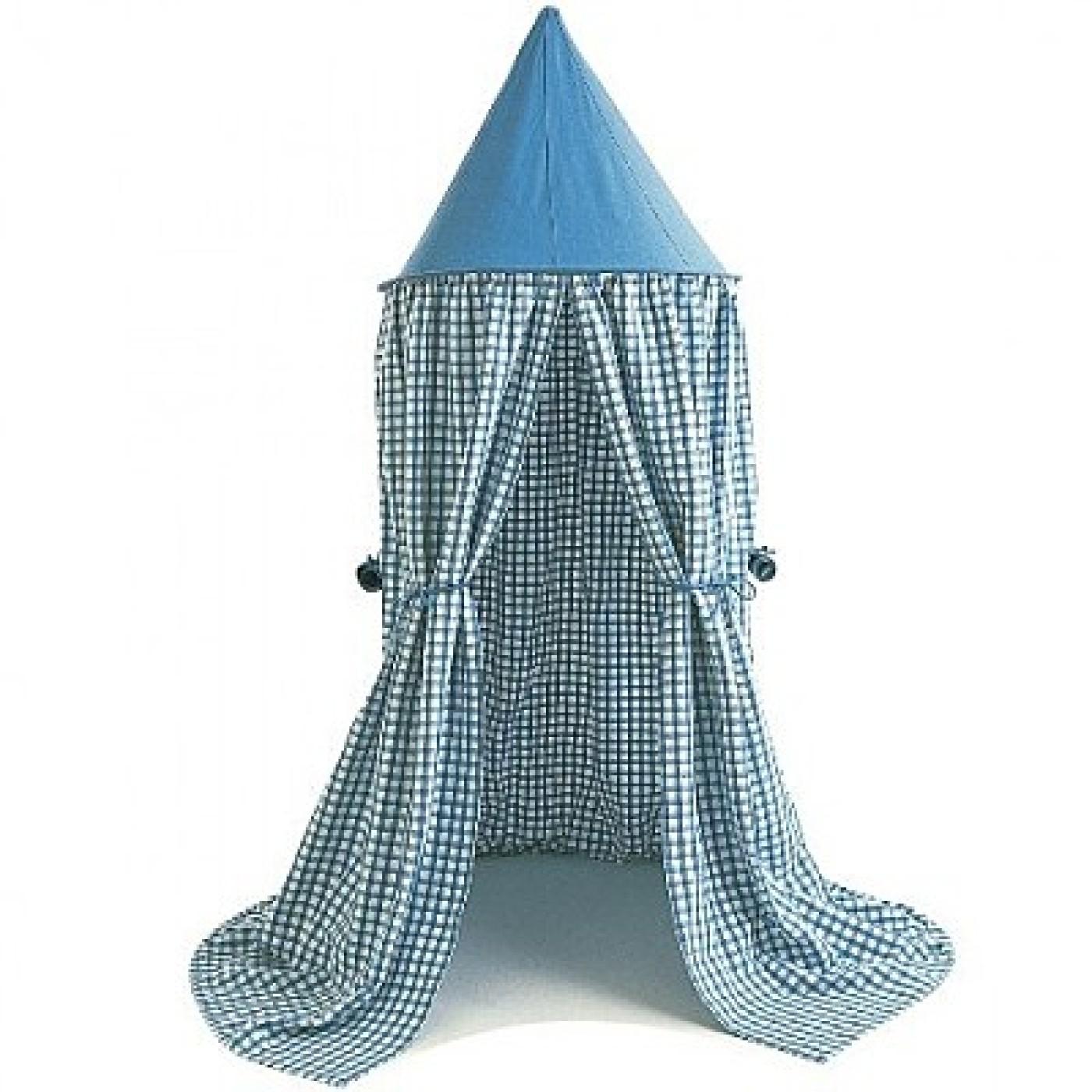 Hanging Tent Sky Blue Gingham