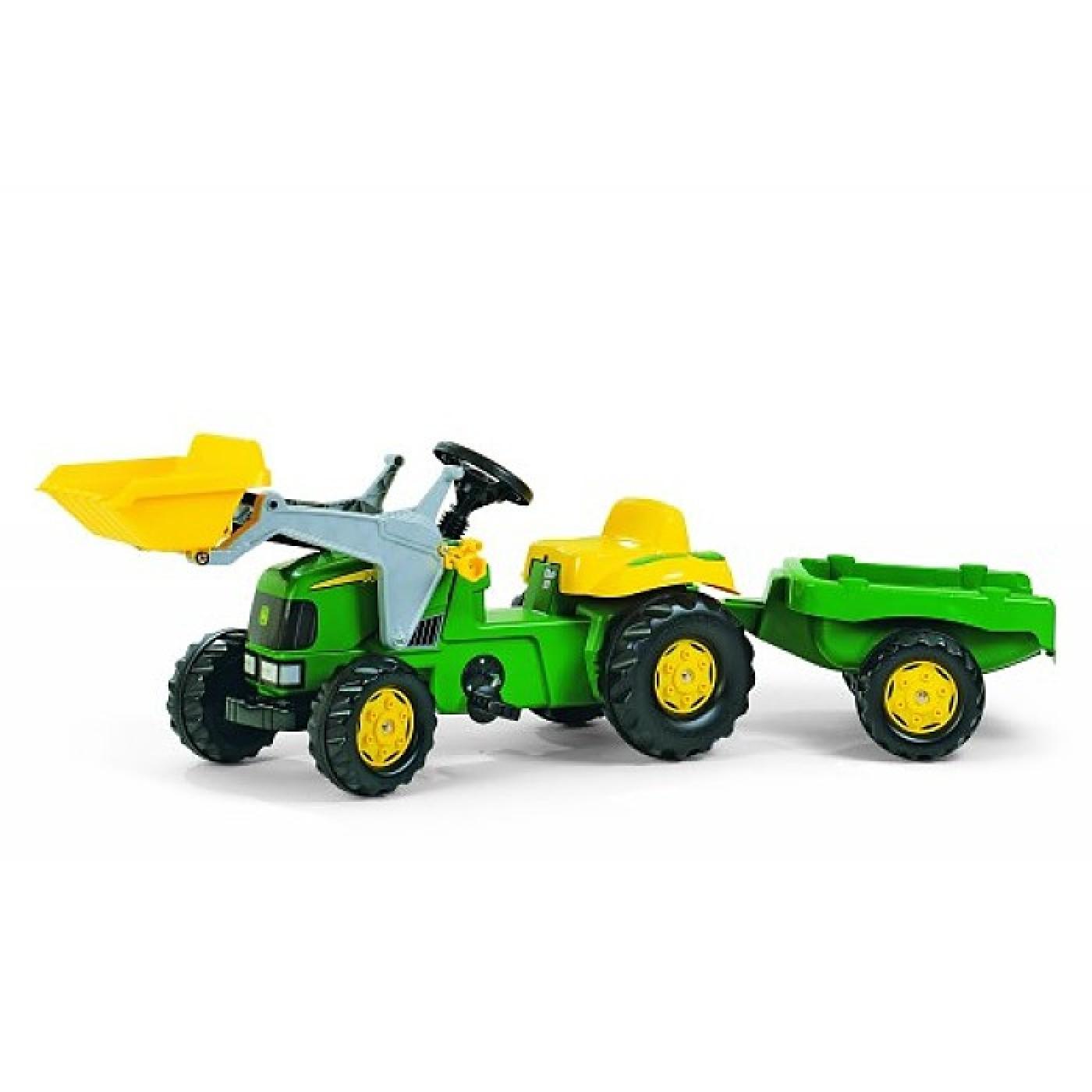 John Deere Tractor w/ Trailer