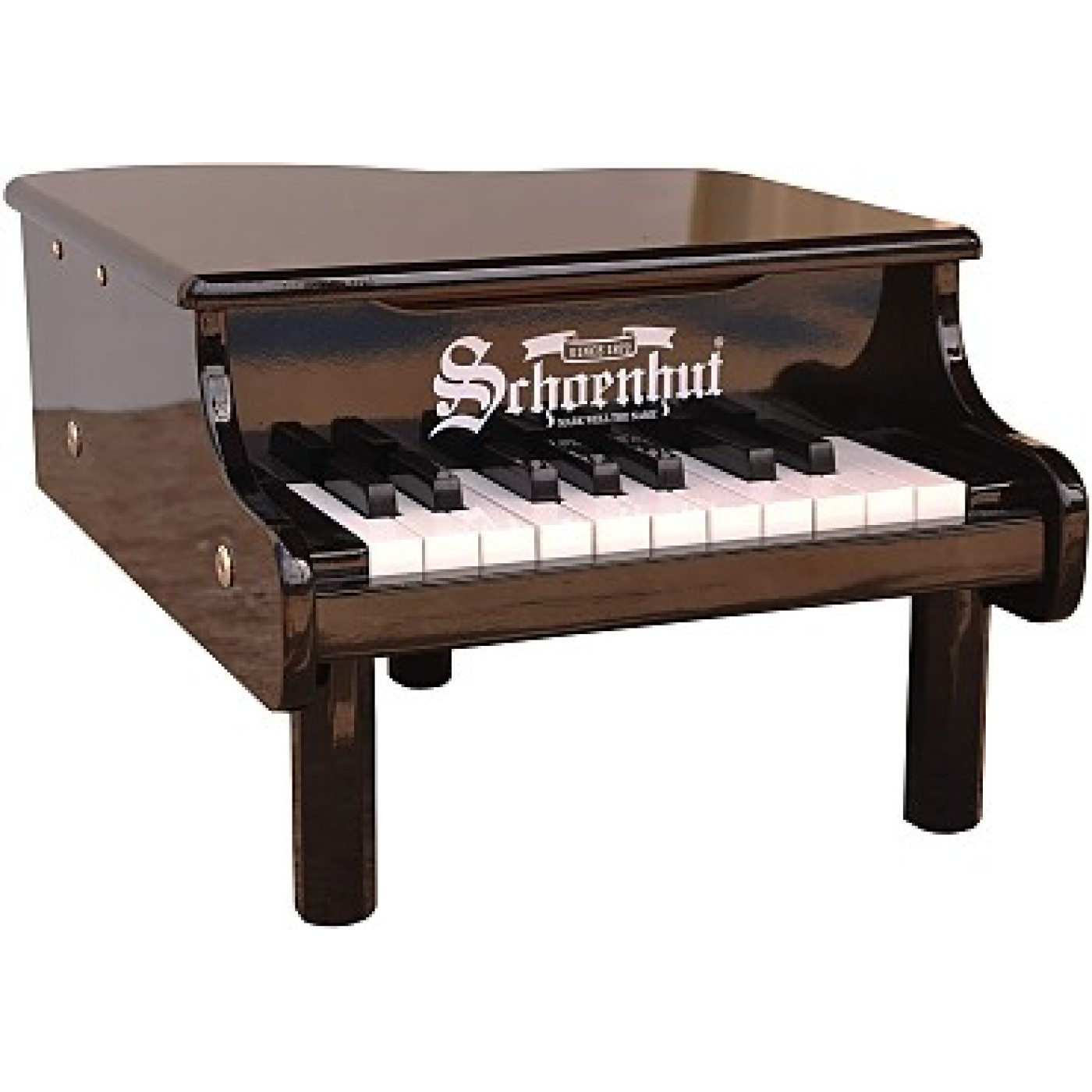Mini Grand Piano 18-Key - Black