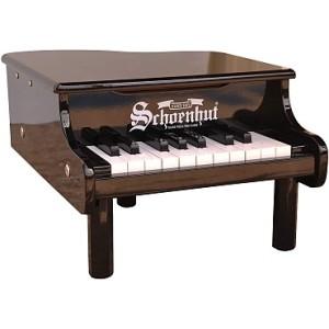 Mini Grand Piano 18-Key - Black