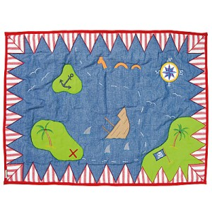 Pirate Shack Floor Quilt - Large