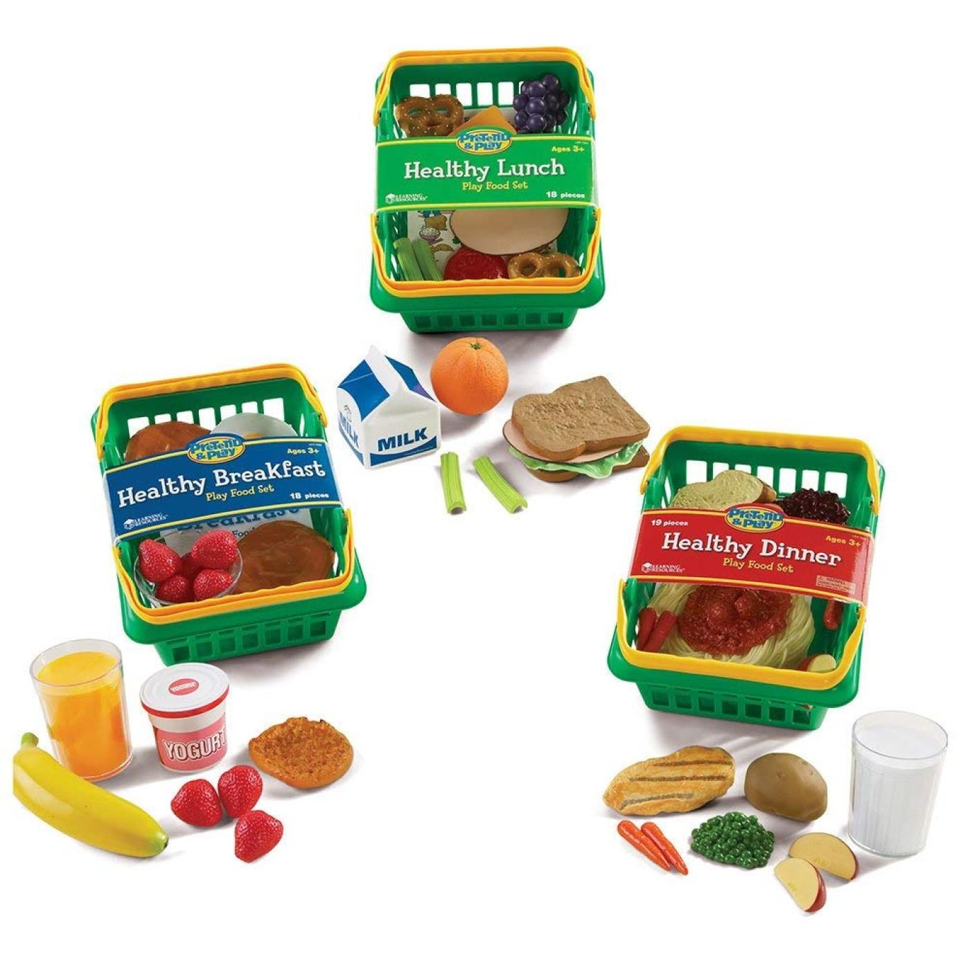 Play Set Healthy Foods Set