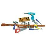 Pretend And Play Work Belt Tool Set