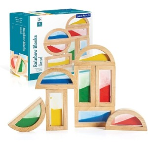 Rainbow Blocks Sand
