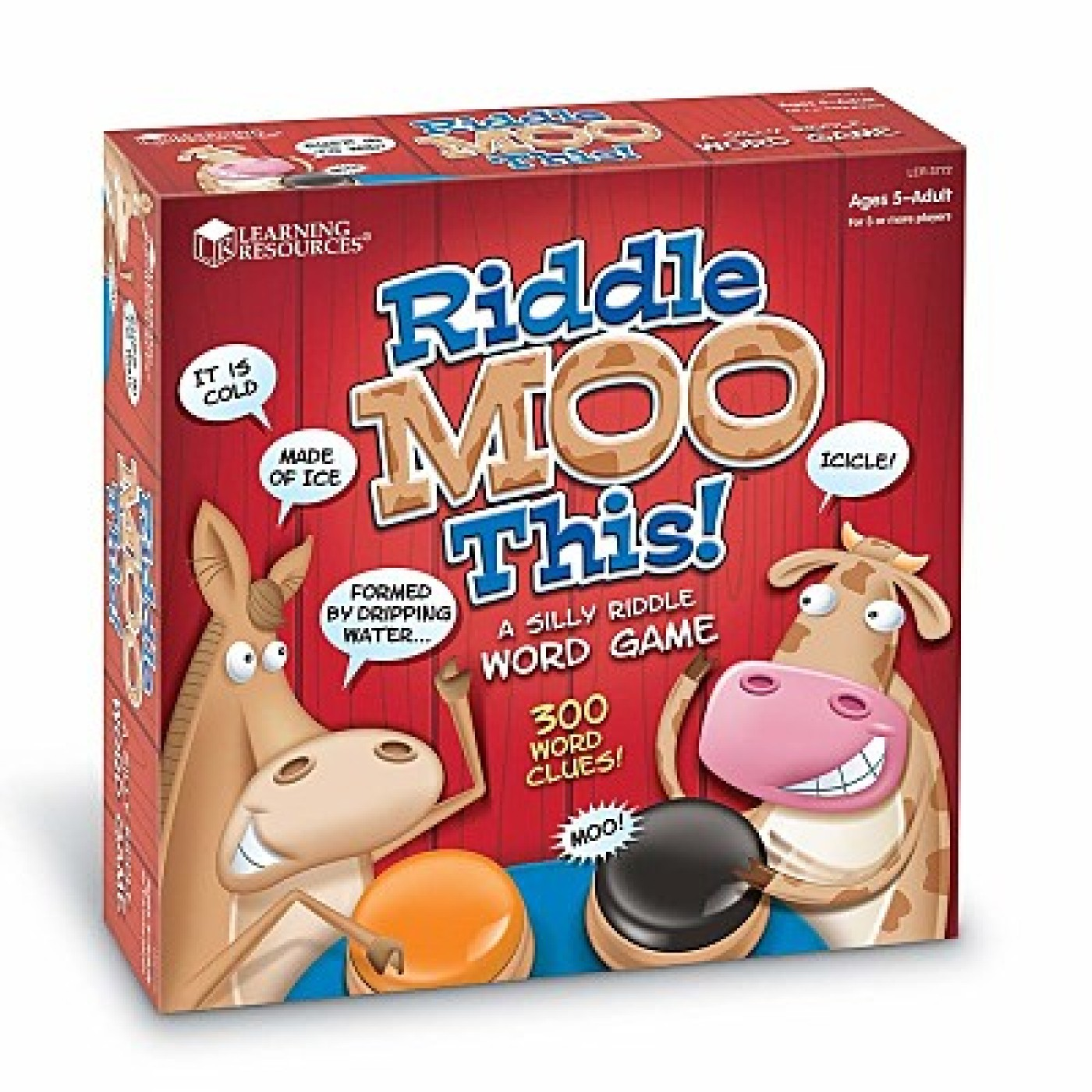 Riddle Moo This Is A Riddle Word Game