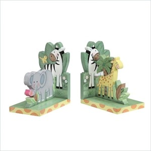 Sunny Safari Set of Bookends