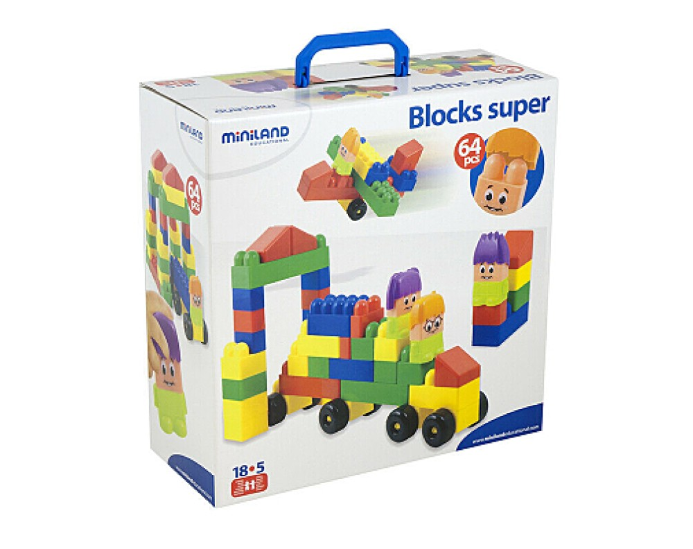 Super Blocks 64 Pieces