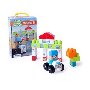 Super Blocks - Hospital 21 Pcs