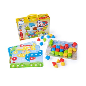 Superpegs - 32 Pcs - Bright Colors