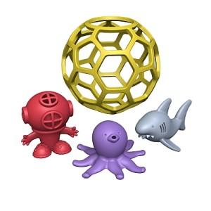 Begin Again Toys Bathtub Ball - Shark Tank