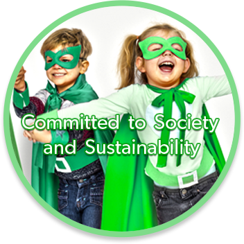 Committed to Society and Sustainability