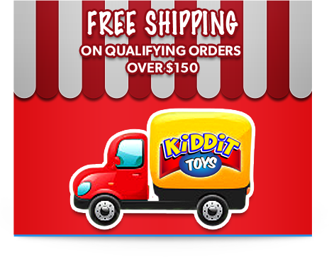 Free Shipping at Kiddit